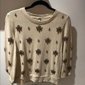 Embroidered Jcrew Sweater